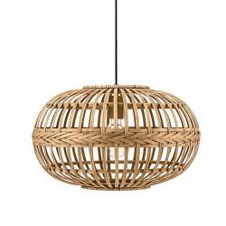 Amsfield ξύλινο φωτιστικό σε φυσική απόχρωση