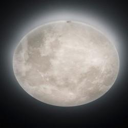 Lunar Φωτιστικό οροφής Σελήνη Led 40w θερμό λευκό