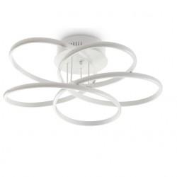 IDEAL LUX Φωτιστικό οροφης 45w φυσικό λευκό φώς KAROL 227825