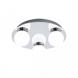 EGLO Φωτιστικό οροφής 3x3.3w στεγανό MOSIANO 94629