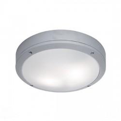 Φωτιστικό οροφής εξ. χώρου Leros ασημί p54