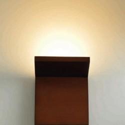Φωτιστικό Τοίχου Μαύρο Led4w Acadecor L36291BK
