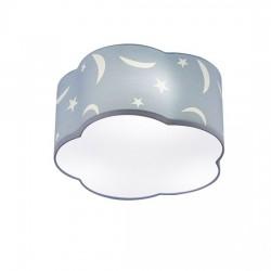 Παιδικό φωτιστικό οροφής υφασμάτινο Moon Ø40
