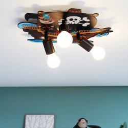 Παιδικό οροφής τρίφωτο με σχέδιο Pirates