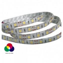 LED Strip 3M - 7.2W/m 30 LEDs RGB στεγανή IP65 (ρολό 5μ)