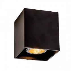Dice σποτ οροφής GU10 σε μαύρο της Viocef
