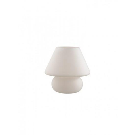 Prato TL1 Big γυάλινο λευκό πορτατίφ Ideal Lux