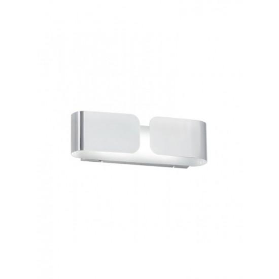 Clip AP2 Small μεταλλική απλίκα σε λευκό Ideal Lux