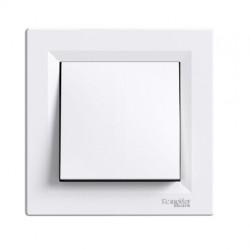 Asfora μπουτόν απλό Λευκό
